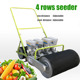 Manual hand push carrot seeder vegetable seed planter for sale