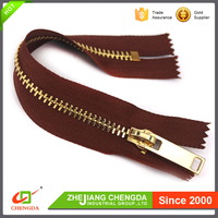 CHENGDA 2017 Fashion Special Custom No.3 ISO9001 Jeans Metal Zippers