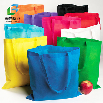 Fully Automatic Hot Selling Customized High Quality Cheap Logo Printed Shopping Tote Handled Non Woven Fabric Bag