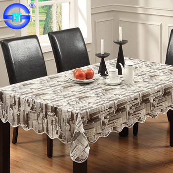 Chinese Supplier Quality Vinyl Tablecloths Restaurant Wholesale