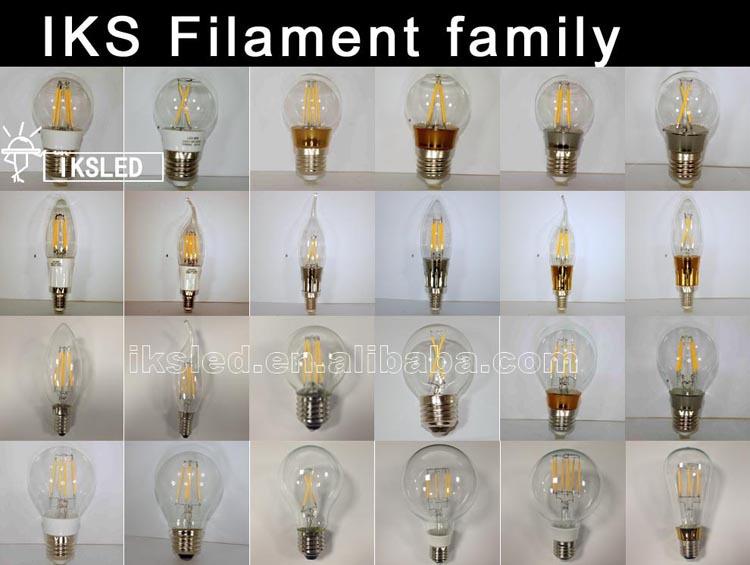 China Factory 4w Dimmable Led Filament Bulb E14 Gu10 Led Bulb 12v ...