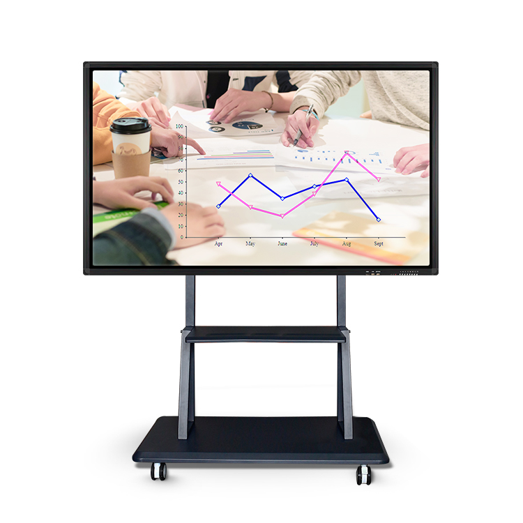 TouchPie interactieve whiteboard Alle-in-een 65 inch 10-point IR touch screen voor kantoor school gebruik