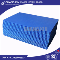 Water proof/durable offer sealed edge plastic corrugated sheet/ board