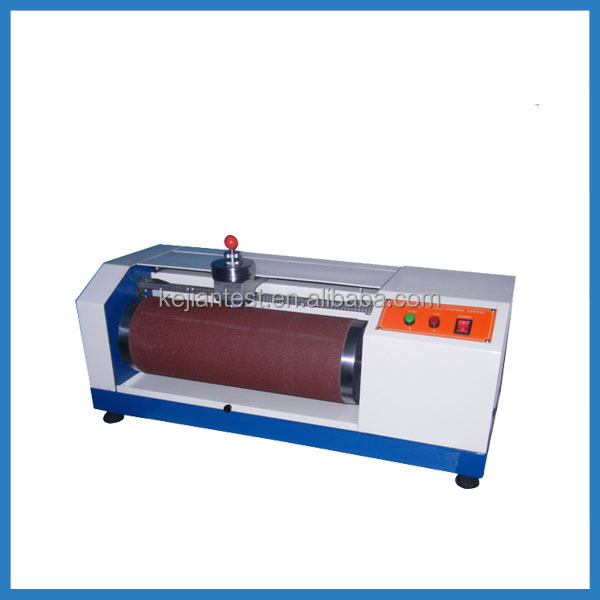 Resistance Tester In Plastic Molding : Plastic rubber leather abrasion test machine din