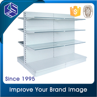 Top quality supermarket display metal grocery store shelf for super market