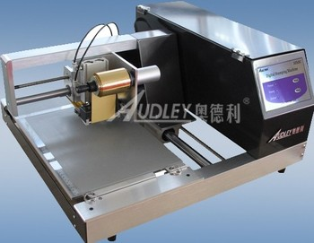 Low price screen printing machine for papers visitingwedding