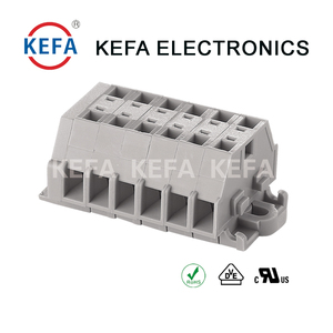 Spring Terminal Blocks 5.0mm/6.0mm/7.0mm with different pitch