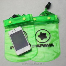TPU/PVC Mobile Waterproof Cell Phone Bag for Phone