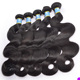 Natural unprocessed remy hair extensions gray human hair,no chemical gray hair weave,cheap silver hair extensions