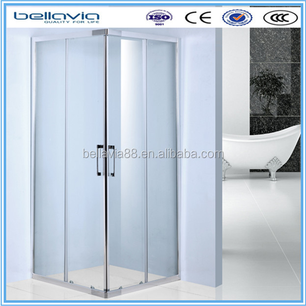bathroom box sliding shower enclosure square shower box aluminum shower stall