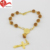 Fashion Italian saint acrylic catholic religious themed beads bracelet plastic for children