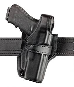 Safariland 070 Level III Retention Duty Holster, Mid-Ride, Black, Plain Right Hand, Sig P229 070-74-161 by Safariland
