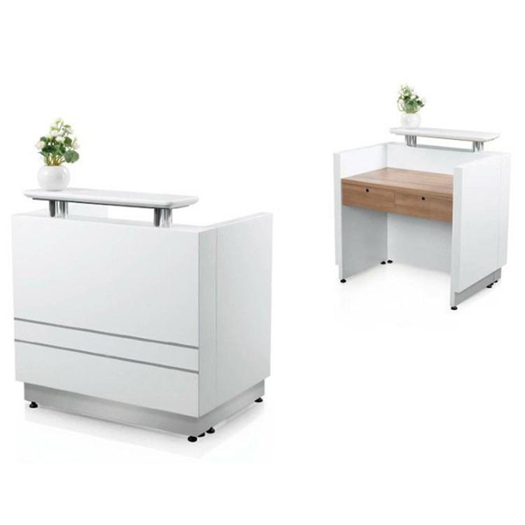 Factory New Design Cheap Modern Small Reception Desk