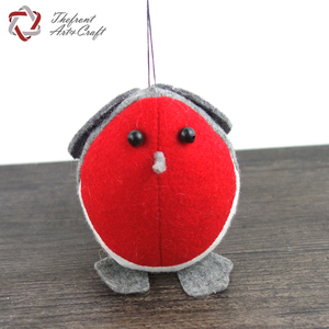 Ornaments pure wool felt handcrafts home decoration fabric Christmas hanging bird