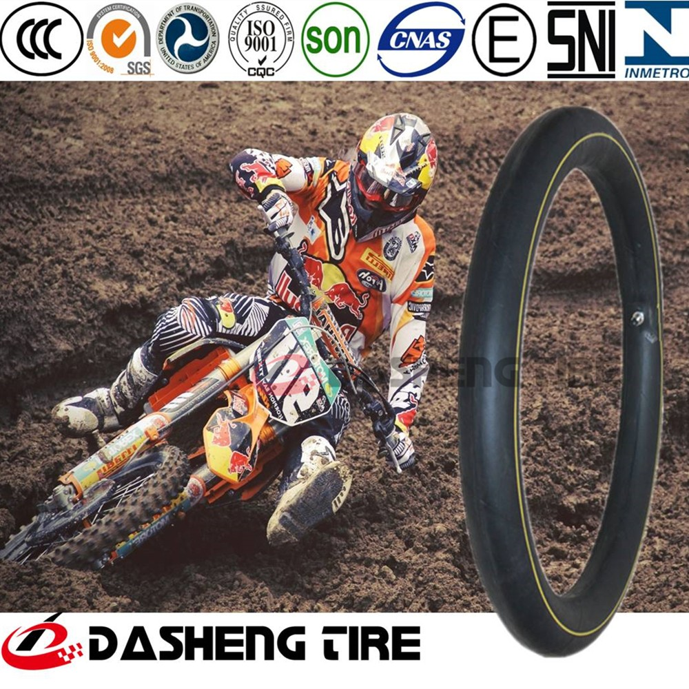 High Quality Natural Inner Tube for Motorcycle Tire, Duradero Camara De Natural Para Motocicleta