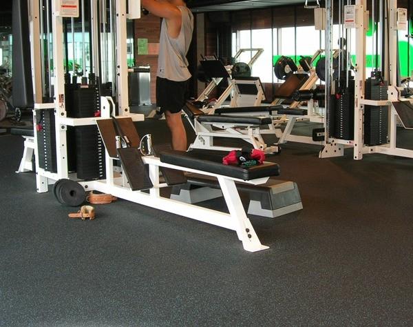Palestra attrezzature per il fitness palestra pavimentazione in