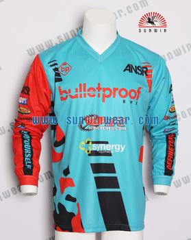 custom design professional BMX jersey  281069d53