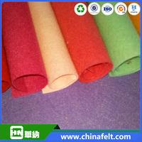 quality raw material 100% new zealand merino thick wool felt fabric