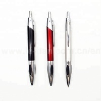 Good quality office pilot click metal ballpoint pen
