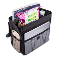 Leak Proof Auto Car Trash Bag Garbage Can For Back Seat Hanging Organizer