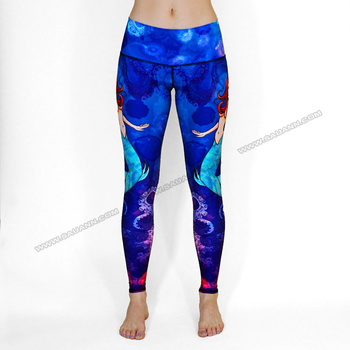Top Quality Dri Fit Dance Capri Pants Sexy Girls Wearing Yoga ...