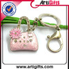 Color brilliancy metal key chain digital photo viewer