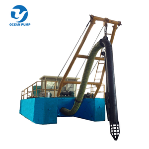 Double Pump Diesel Power Small River Sand Dredge
