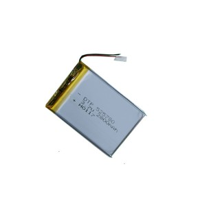 Square li ion rechargeable battery 3.7v 750mah lipo battery pack