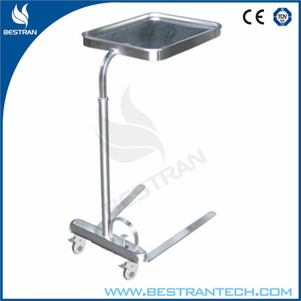 BT-SMT004 Medical hydraulic foot pedal mayo table Instrument stand