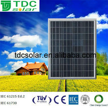 TDC Polycrystal Silicon 50WP Solar PV Module with high quality solar cell