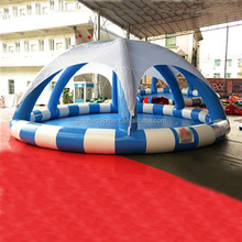 Hot Sale Inflatable Water Pool With Tent Cover
