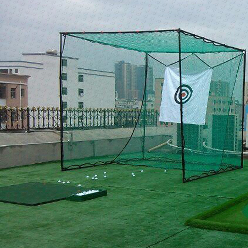 Indoor & outdoor golf hitting kooien, putting green, golf doel praktijk netto en matten