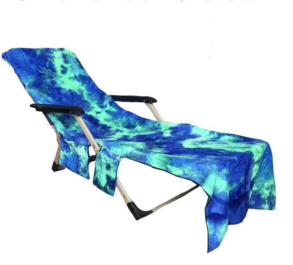 0c15f36c67cd HomeYoo Beach Chair Cover, Pool Side Chaise Cover, Pool Lounge Chair Towel  Beach Towel