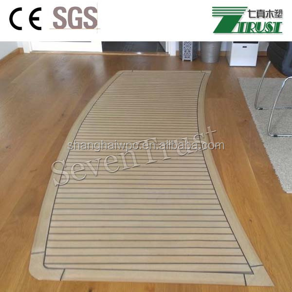 waterproof sailing boat/ yacht decking floor