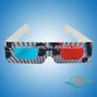 Excellent Three-Dimensional Effect Custom Logo Paper Red Cyan Red/Green 3D Paper Glasses