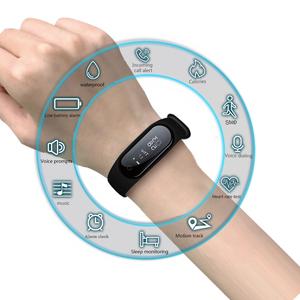 Fit Bit Smart Watch With Bluetooth Headset 2 In 1 Latest 2018 Shenzhen Android Sport Waterproof Bracelet Smart Watch Fitness