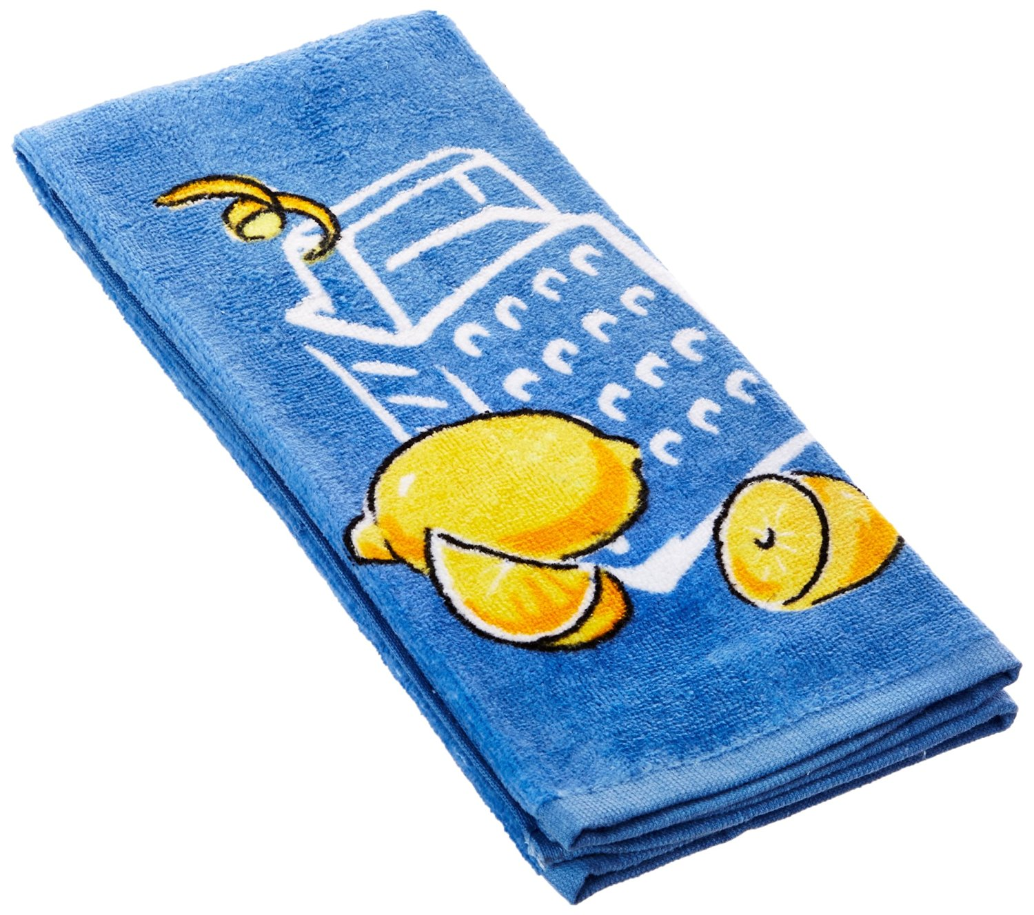 Kay Dee Designs Cook Collection Cotton Fiber Reactive Towel, 16 by 26-Inch, Zest