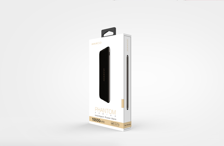Maxco Phantom Best Selling High Capacity Power Bank 30000mah New Style for Optional