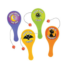 Top Supplier Promotional Custom Cheap Mini Little Boolievers Paddleball Games Factory Direct Wholesale Toy Novelty Paddle Balls