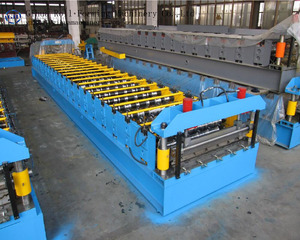 The multifunctional metal shingle forming machine sheet glazed roofing tile making machine.cold roll for sale