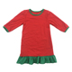 Baby Clothing Girls Frock Design Christmas Red Green Xmas Dress