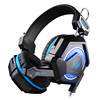 OEM ODM Wired Stylish Computer Gaming Headphone Headset GS210 with Mic