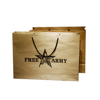 China Supplier New brand printed logo gift paper bag