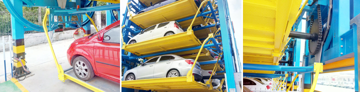 Smart Rotary Vertical Tower Type Car Parking Mechanical System
