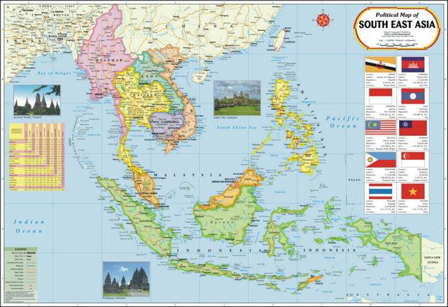 خريطة جنوب شرق آسيا Buy خرائط بلاستيكية Product On Alibaba Com