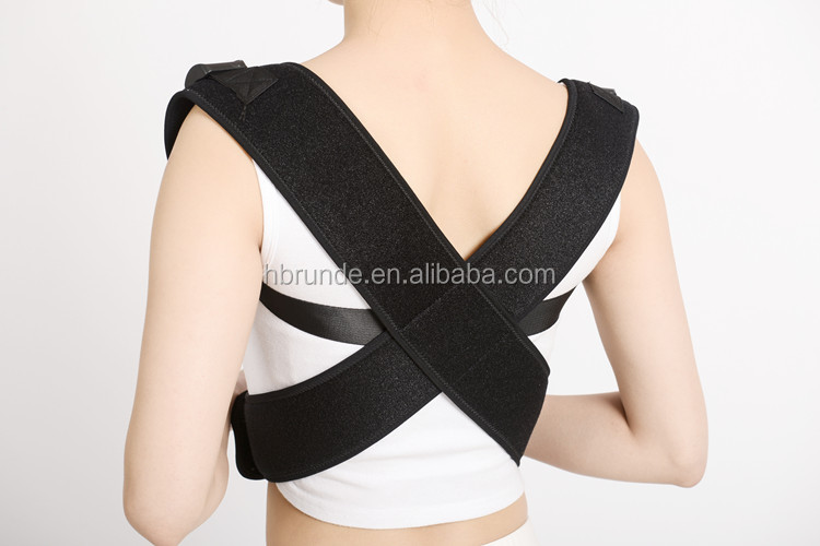Magnetic therapy posture corrector device for women