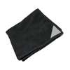 Premium Microfiber Cleaning Cloths- Black - Perfect for Keeping Your iPhone, iPad, or Any WITH MAGNET for whiteboard cleaning