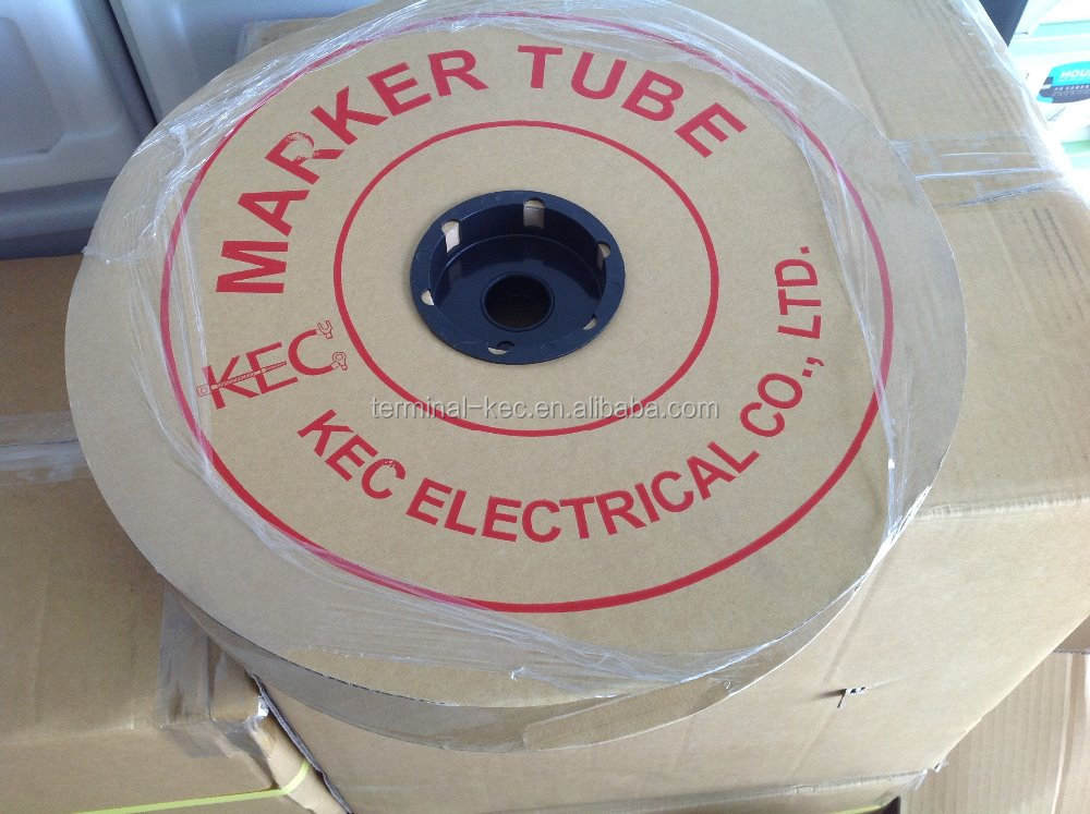 O TYPE PLASTIC CABLE MARKER TUBE