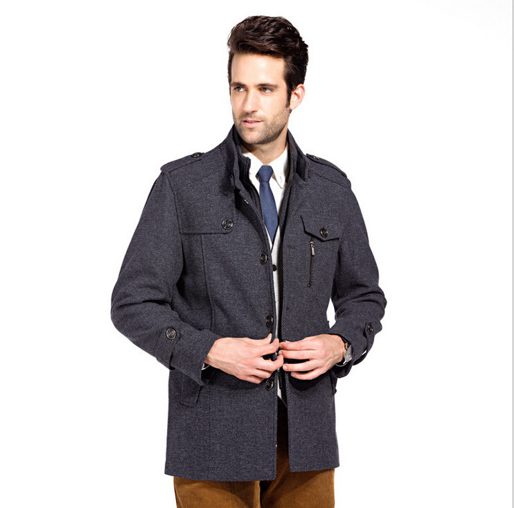 Cheap Mens Grey Military Coat, find Mens Grey Military Coat deals ...