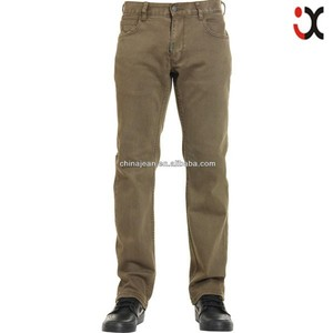 hot sale mens pants men khaki denim jeans trousers mens khakis pants JX16009